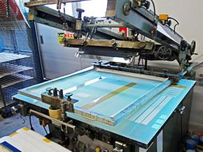 半自動印刷機(小) エコー800型