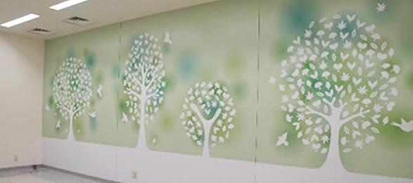デジタルプリント壁紙
