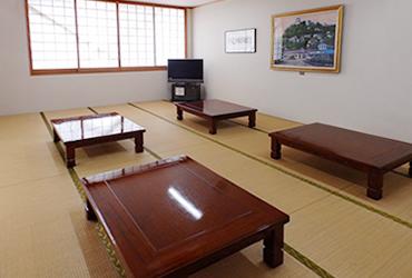 和室の休憩室